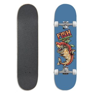 Deskorolka kompletna Fish Skateboards Beginner 8.0