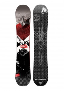 Snowboard Pathron Play Pro Carbon by Piotr Tokarczyk 2021